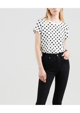 Levis dámské tričko s puntíkem