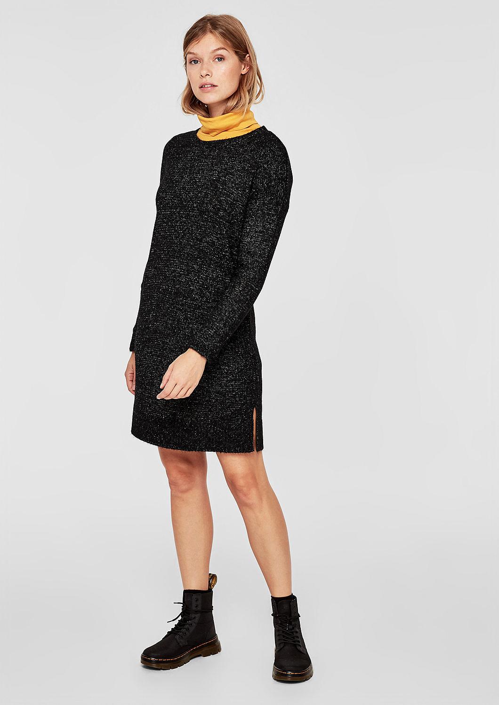 s.Oliver Q/S dámské šaty z pleteniny 41.810.82.2495/99W0 Černá S