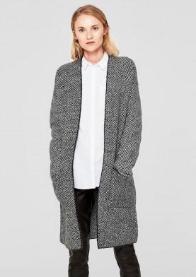 s.Oliver dámský pletný kabát