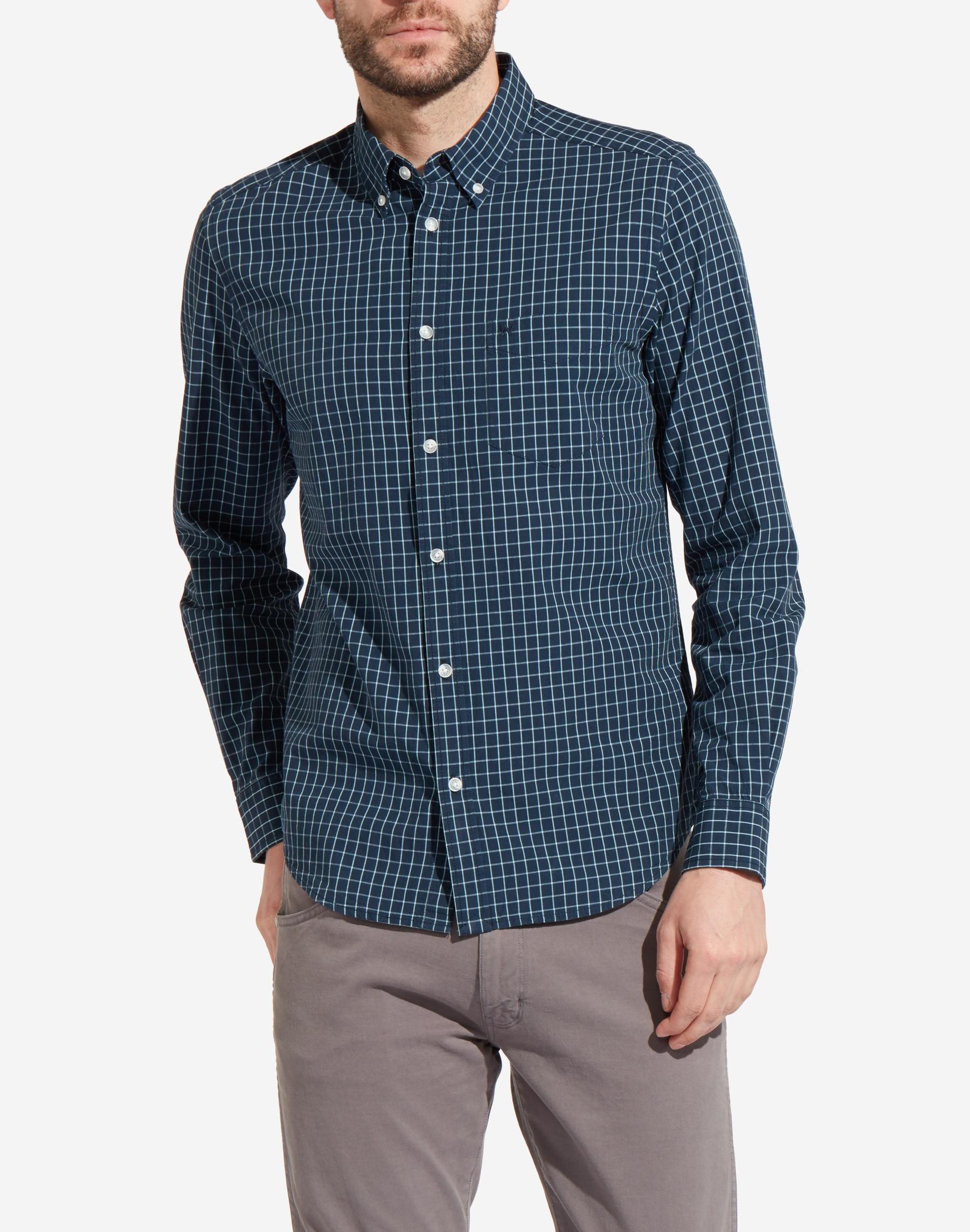 Wrangler pánská košile W5883M335 Modrá L ffad42dc7e