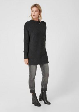 s.Oliver pletený dlouhý svetr