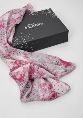 s.Oliver dámský kruhový šátek v dárkové krabičce