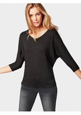 Tom Tailor dámské triko s třipytivou strukturou
