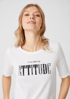 s.Oliver dámské triko s nápisem