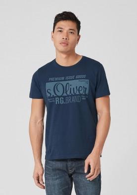 s.Oliver pánské triko s logem