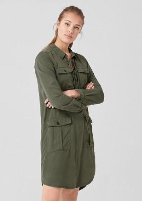 s.Oliver Q/S dámské košilové šaty