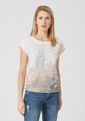 s.Oliver dámské triko s potiskem