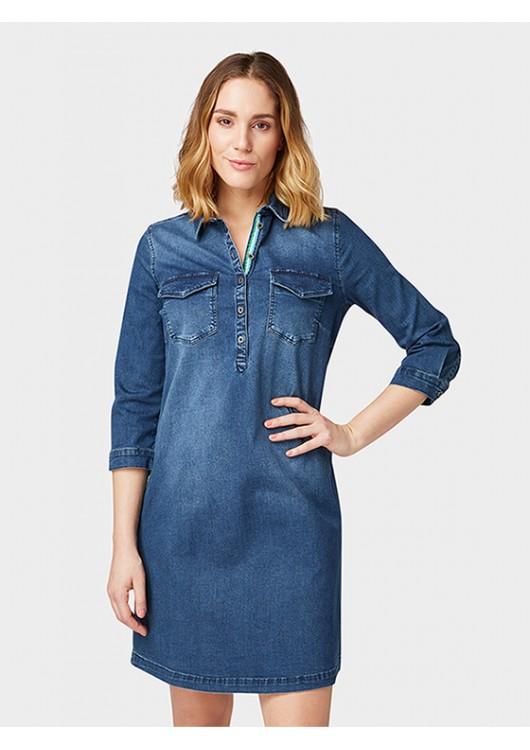Tom Tailor dámské džínové šaty