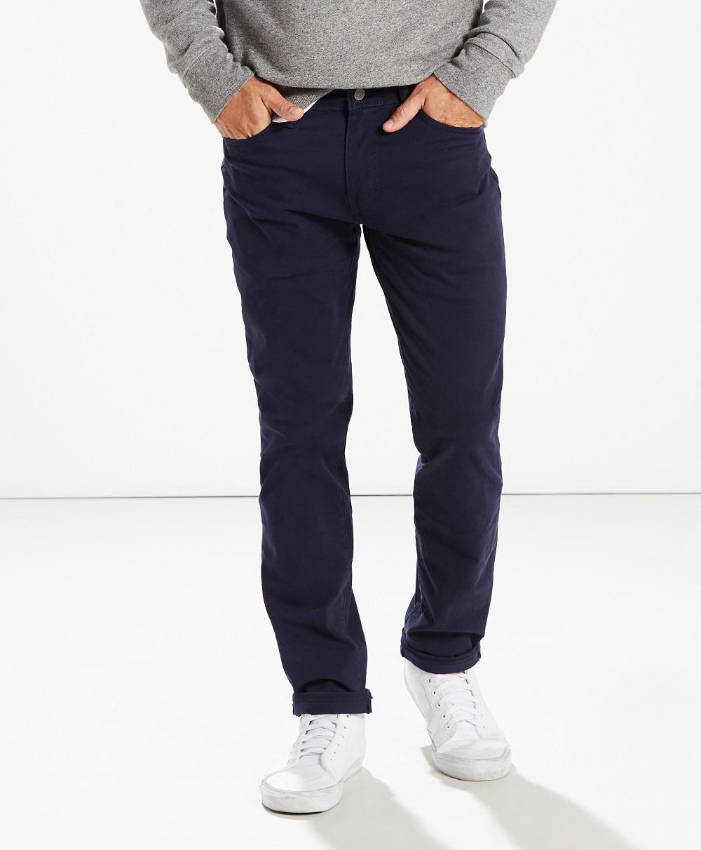 Levi´s pánské plátěné kalhoty 511 Slim 04511-2617 Modrá W36/L32