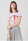 s.Oliver Q/S dámské tričko s vintage motivem