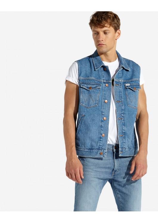 Wrangler pánská džínová vesta