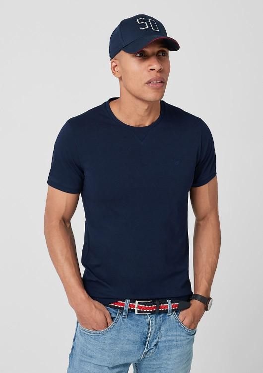s.Oliver pánské triko bez potisku