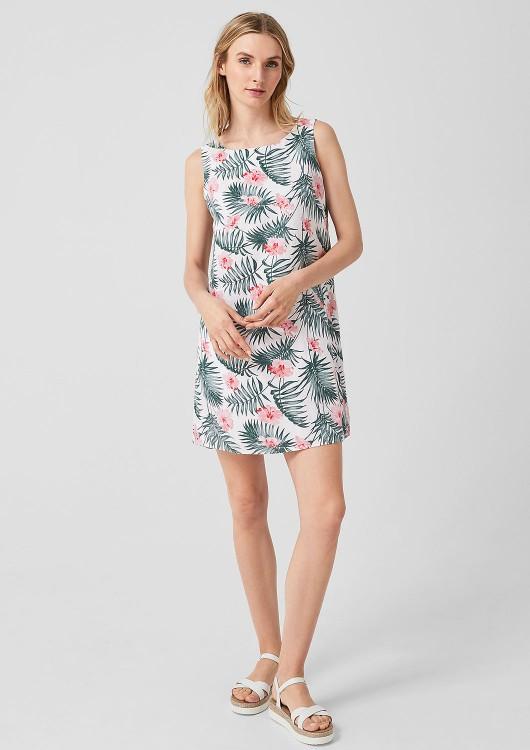 s.Oliver lněné letní šaty