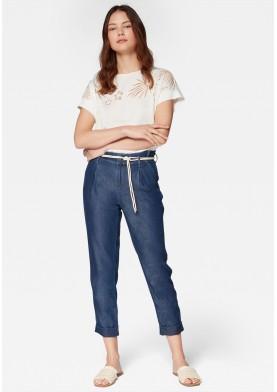 Mavi kalhoty s výsokým pasem