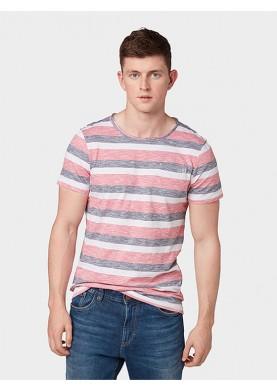 Tom Tailor pánské tričko s proužkem