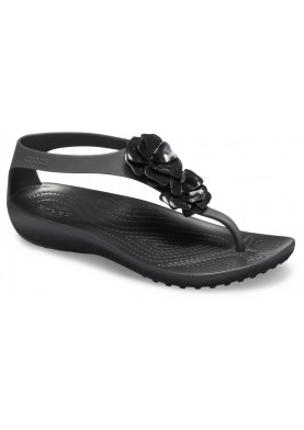 Crocs Serena Embellish Flip Black