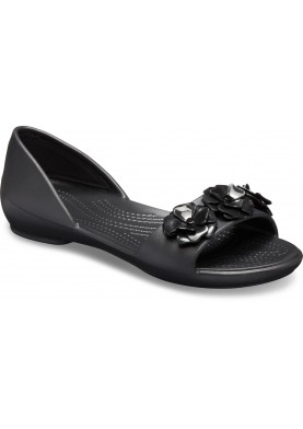 Crocs Flower Dorsay Black