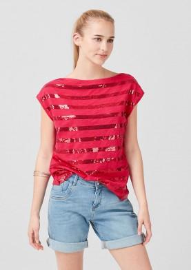 s.Oliver dámské tričko s flitry