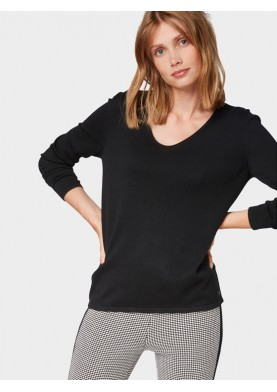 Tom Tailor dámský svetr s výstřihem