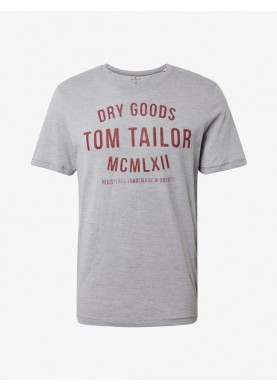 Tom Tailor pánské triko s nápisem