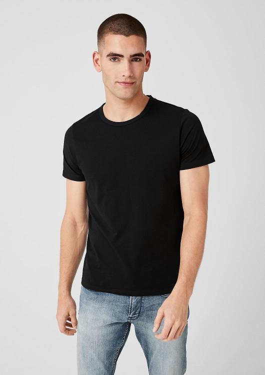 s.Oliver pánské jednobarevné triko