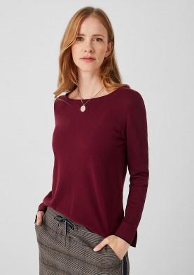 s.Oliver dámský svetr s ozdobnými knoflíky