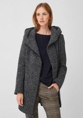 s.Oliver dámský kabát s kapucí a zipem