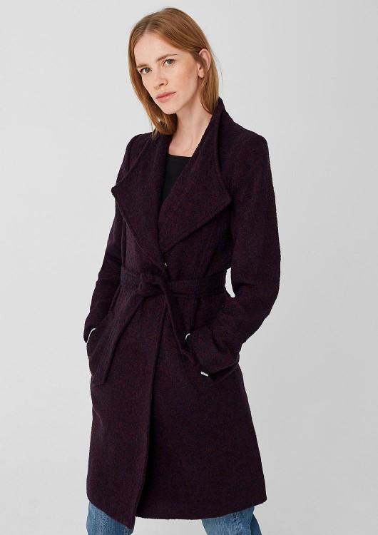 s.Oliver dámský kabát s páskem