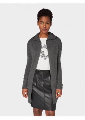 Tom Tailor dámský cardigan s kapucí