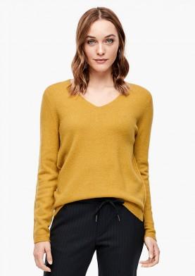 s.Oliver dámský svetr s výstřihem