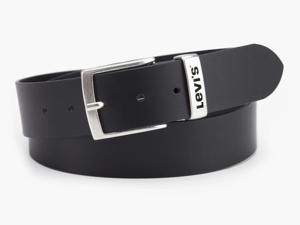 Levis kožený pásek 38016-0117 Černá 100