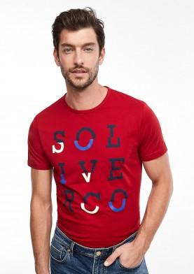 s.Oliver pánské triko s potiskem