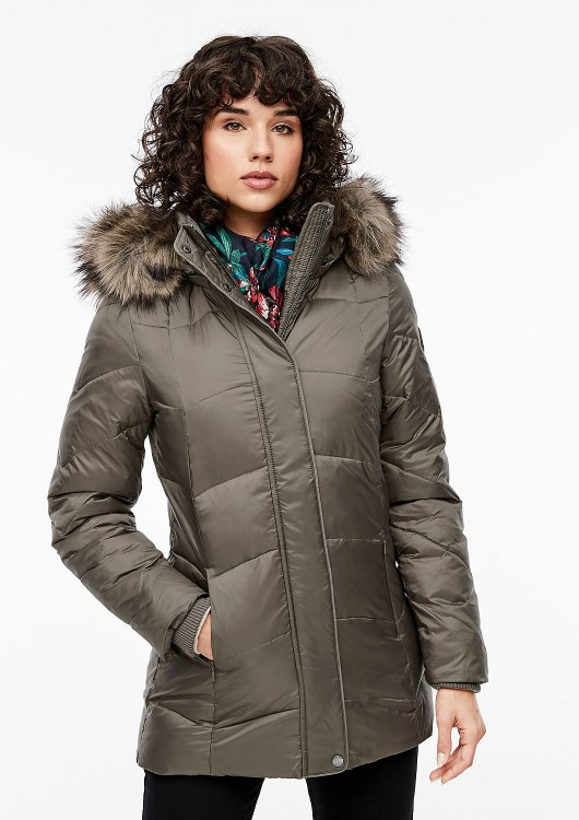 s.Oliver dámská zimní bunda s kapucí