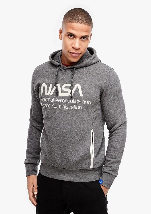 s.Oliver pánská mikina s nápisem NASA