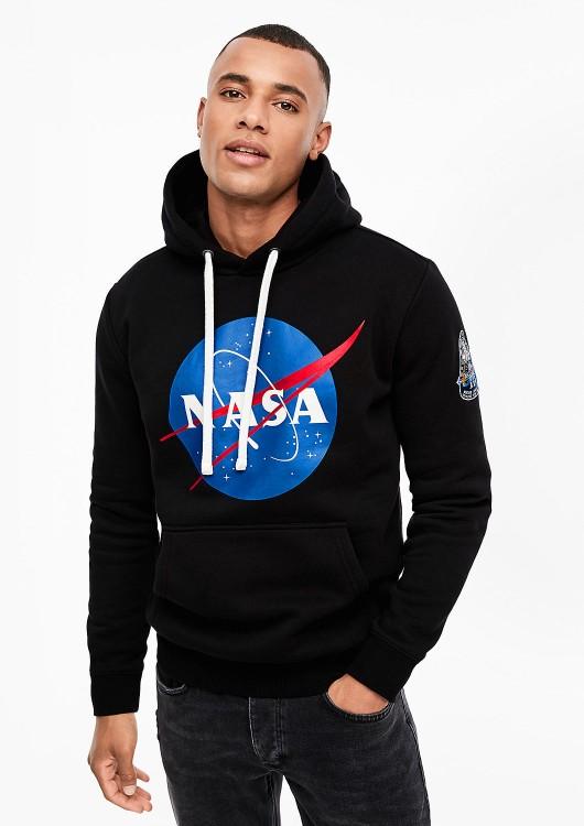 s.Oliver Q/S pánská mikina s nápisem NASA