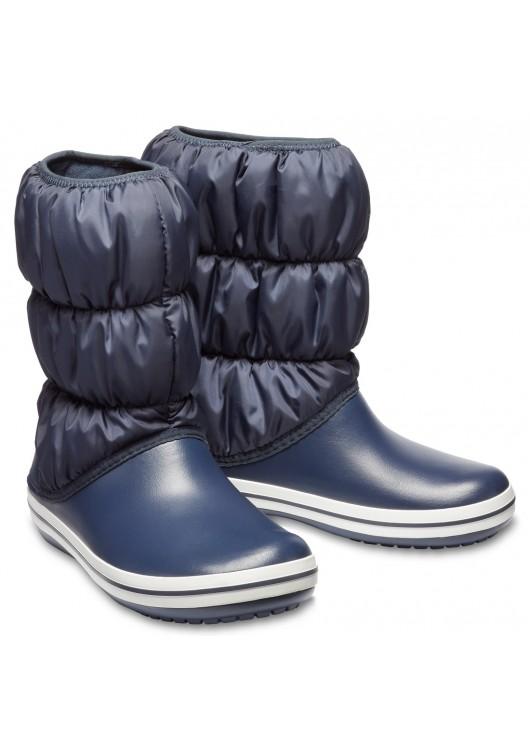 Crocs Winter Puff Boot Navy - zimní sněhule