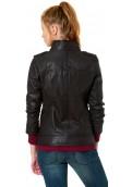 Tom Tailor Denim dámská kožená bunda (1)