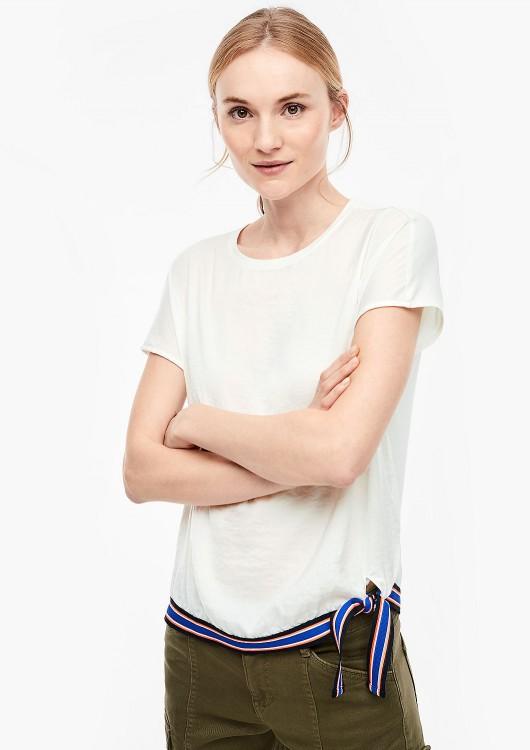s.Oliver dámské triko s mašlí