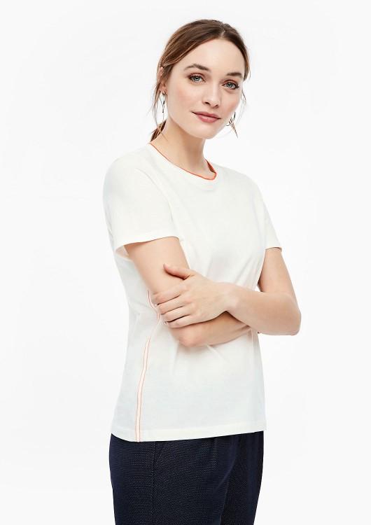 s.Oliver dámské tričko s kontrastním lemováním