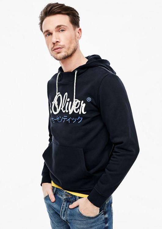 s.Oliver pánská mikina s kapucí