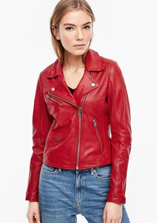 s.Oliver Q/S dámská kožená bunda