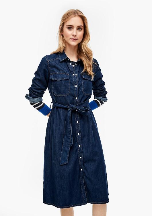 s.Oliver džínové šaty