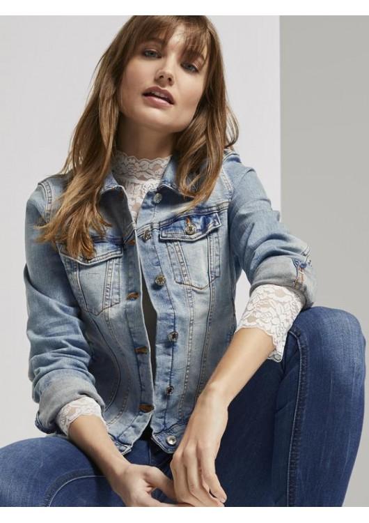 Tom Tailor Denim dámská džínová bunda