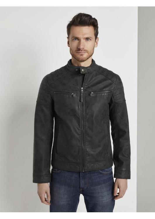 Tom Tailor pánská koženková bunda