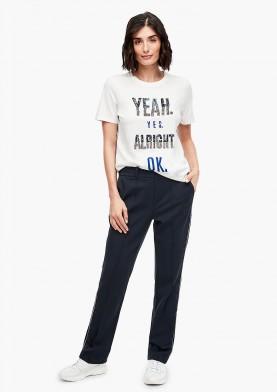s.Oliver dámské sportovně elegantní kalhoty