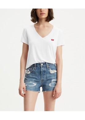 Levis dámské tričko s výstřihem a logem
