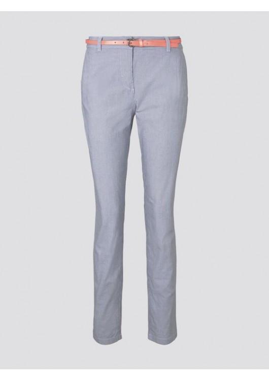 Tom Tailor dámské chino kalhoty s opaskem