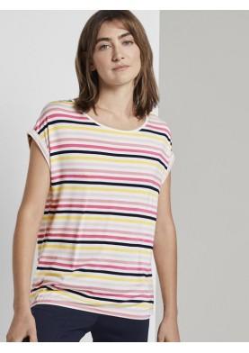 Tom Tailor dámské tričko s proužkem