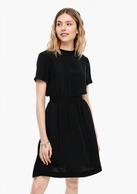 s.Oliver Q/S černé šaty