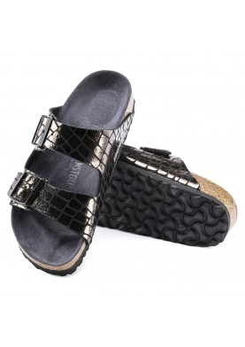 Birkenstock Arizona Gleam Black Pantofle